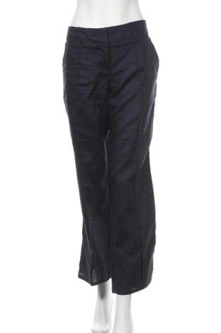 Dámské kalhoty  Promod, Velikost L, Barva Modrá, 52% len, 48% ramie , Cena  172,00Kč