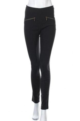 Дамски панталон Rainbow, Размер S, Цвят Черен, 70% полиестер, 25% вискоза, 5% еластан, Цена 7,72лв.