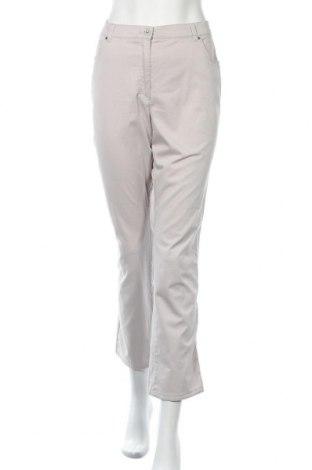 Дамски панталон Raphaela By Brax, Размер L, Цвят Сив, 97% памук, 3% еластан, Цена 30,87лв.
