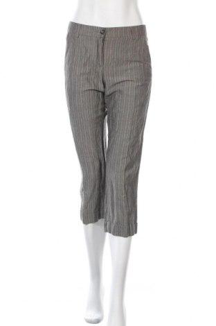 Дамски панталон S.Oliver, Размер S, Цвят Сив, 32% полиестер, 60% вискоза, 8% метални нишки, Цена 7,84лв.