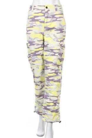 Дамски панталон Topshop, Размер M, Цвят Многоцветен, Памук, Цена 21,69лв.