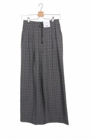 Дамски панталон Topshop, Размер XS, Цвят Сив, 92% полиестер, 8% вискоза, Цена 14,65лв.