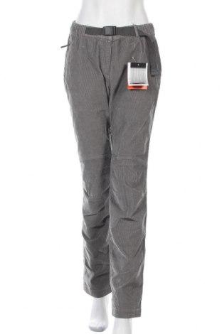 Дамски панталон Trangoworld, Размер L, Цвят Сив, 97% памук, 2% еластан, 1% полиестер, Цена 34,20лв.