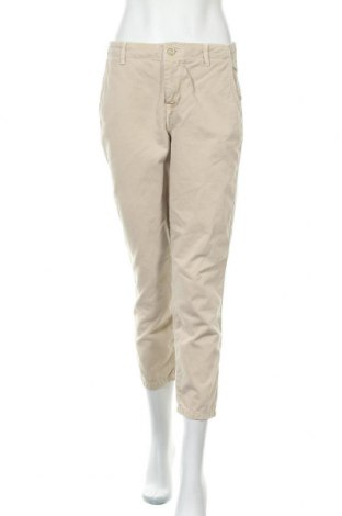 Дамски панталон Zara, Размер S, Цвят Бежов, Цена 10,08лв.