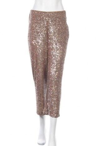 Γυναικείο παντελόνι Zara, Μέγεθος S, Χρώμα Καφέ, Πολυεστέρας, Τιμή 8,46€