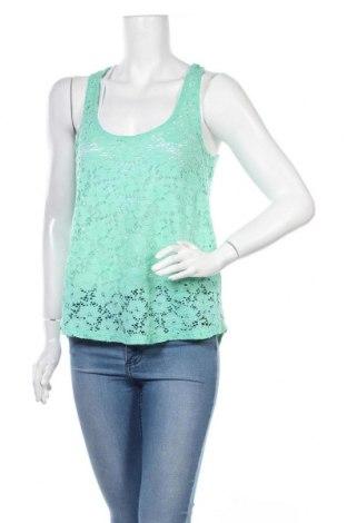 Γυναικείο αμάνικο μπλουζάκι, Μέγεθος M, Χρώμα Πράσινο, Τιμή 9,09€
