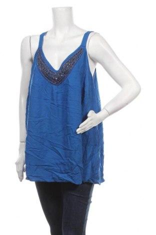 Γυναικείο αμάνικο μπλουζάκι Autograph, Μέγεθος XXL, Χρώμα Μπλέ, Βισκόζη, Τιμή 17,90€