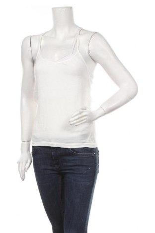 Γυναικείο αμάνικο μπλουζάκι Axara, Μέγεθος S, Χρώμα Λευκό, 98% πολυεστέρας, 2% ελαστάνη, Τιμή 14,94€