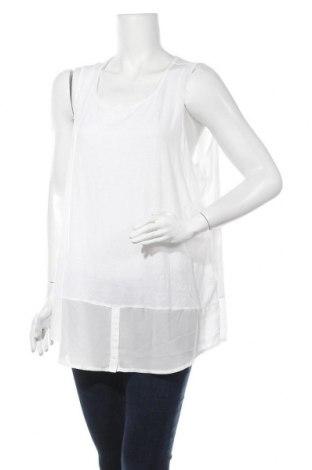 Γυναικείο αμάνικο μπλουζάκι Charles Vogele, Μέγεθος XL, Χρώμα Λευκό, 95% βισκόζη, 5% ελαστάνη, Τιμή 4,09€