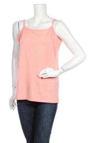 Γυναικείο αμάνικο μπλουζάκι Charles Vogele, Μέγεθος XL, Χρώμα Ρόζ , 95% βαμβάκι, 5% ελαστάνη, Τιμή 8,83€