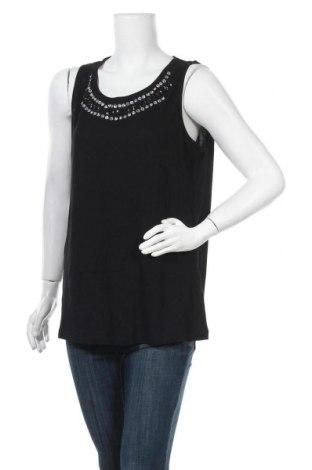Γυναικείο αμάνικο μπλουζάκι Charles Vogele, Μέγεθος L, Χρώμα Μαύρο, Βισκόζη, Τιμή 4,42€