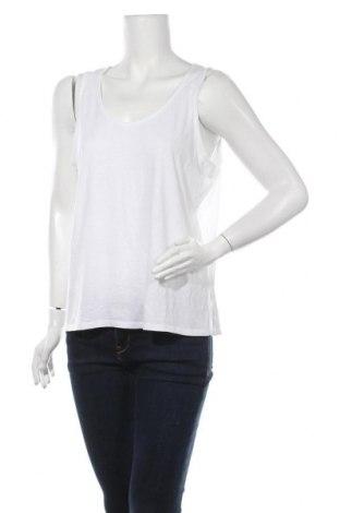 Γυναικείο αμάνικο μπλουζάκι Charles Vogele, Μέγεθος L, Χρώμα Λευκό, Τιμή 4,68€