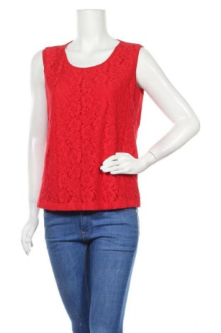 Γυναικείο αμάνικο μπλουζάκι Charles Vogele, Μέγεθος M, Χρώμα Κόκκινο, 95% βισκόζη, 5% ελαστάνη, Τιμή 9,94€