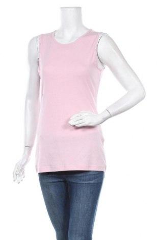 Γυναικείο αμάνικο μπλουζάκι Charles Vogele, Μέγεθος M, Χρώμα Ρόζ , Βαμβάκι, Τιμή 3,51€