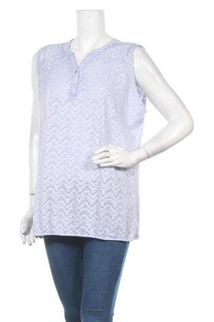 Γυναικείο αμάνικο μπλουζάκι Charles Vogele, Μέγεθος XXL, Χρώμα Βιολετί, 60% βαμβάκι, 40% πολυεστέρας, Τιμή 7,47€