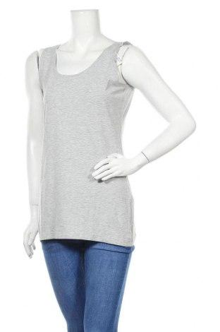 Γυναικείο αμάνικο μπλουζάκι Charles Vogele, Μέγεθος M, Χρώμα Γκρί, 90% βαμβάκι, 5% βισκόζη, 5% ελαστάνη, Τιμή 8,64€
