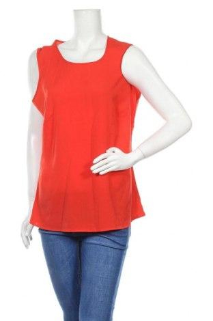Γυναικείο αμάνικο μπλουζάκι Charles Vogele, Μέγεθος L, Χρώμα Κόκκινο, Πολυεστέρας, Τιμή 8,18€
