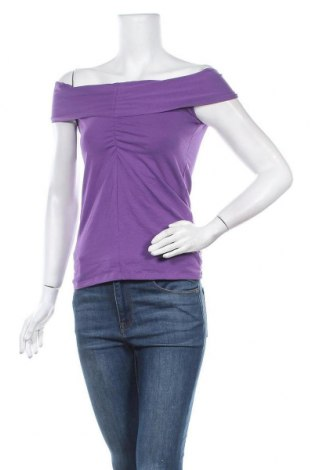 Γυναικείο αμάνικο μπλουζάκι Chicoree, Μέγεθος M, Χρώμα Βιολετί, 95% βαμβάκι, 5% ελαστάνη, Τιμή 9,74€