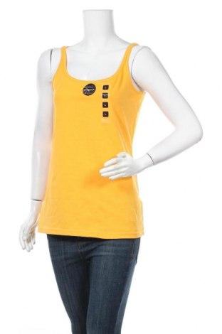 Дамски потник Colours Of The World, Размер L, Цвят Жълт, 94% памук, 6% еластан, Цена 9,56лв.