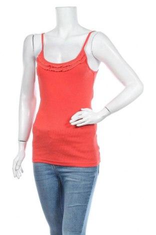 Дамски потник Colours Of The World, Размер L, Цвят Оранжев, 95% памук, 5% еластан, Цена 19,11лв.