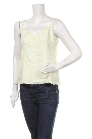 Дамски потник H&M, Размер L, Цвят Зелен, 100% лен, Цена 4,20лв.