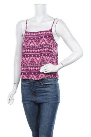 Γυναικείο αμάνικο μπλουζάκι H&M Divided, Μέγεθος L, Χρώμα Πολύχρωμο, Βισκόζη, Τιμή 6,75€