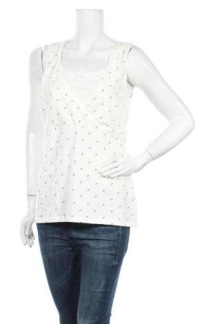 Дамски потник H&M Mama, Размер L, Цвят Бял, 96% памук, 4% еластан, Цена 12,60лв.
