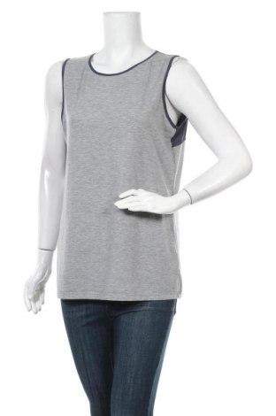 Γυναικείο αμάνικο μπλουζάκι Helly Hansen, Μέγεθος L, Χρώμα Γκρί, 96% πολυεστέρας, 4% ελαστάνη, Τιμή 20,78€