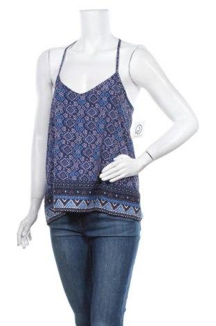Γυναικείο αμάνικο μπλουζάκι Hollister, Μέγεθος M, Χρώμα Μπλέ, Πολυεστέρας, Τιμή 9,38€