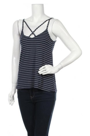 Γυναικείο αμάνικο μπλουζάκι Hollister, Μέγεθος S, Χρώμα Μπλέ, Τιμή 3,38€