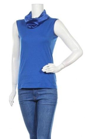 Дамски потник Hugo Boss, Размер S, Цвят Син, 88% памук, 12% еластан, Цена 63,84лв.