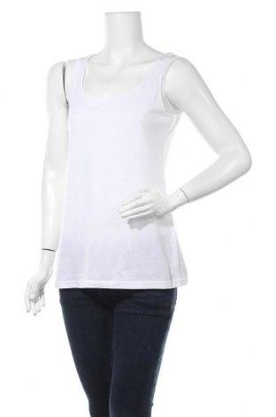 Γυναικείο αμάνικο μπλουζάκι John Baner, Μέγεθος M, Χρώμα Λευκό, Τιμή 9,74€