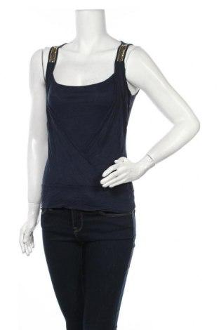 Γυναικείο αμάνικο μπλουζάκι Mexx, Μέγεθος S, Χρώμα Μπλέ, Βαμβάκι, Τιμή 7,01€