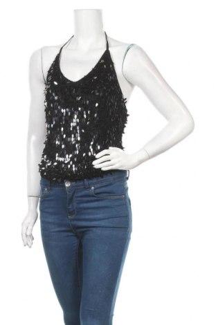 Γυναικείο αμάνικο μπλουζάκι Mexx, Μέγεθος M, Χρώμα Μαύρο, Βισκόζη, πολυεστέρας, Τιμή 8,83€