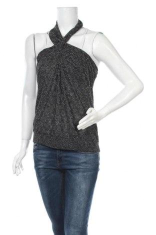 Γυναικείο αμάνικο μπλουζάκι Morgan, Μέγεθος M, Χρώμα Μαύρο, Τιμή 10,39€