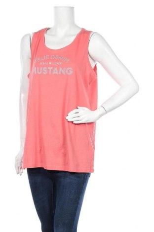 Дамски потник Mustang, Размер XL, Цвят Розов, 100% памук, Цена 13,44лв.