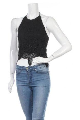 Γυναικείο αμάνικο μπλουζάκι Nicowa, Μέγεθος M, Χρώμα Μαύρο, Βισκόζη, Τιμή 12,06€