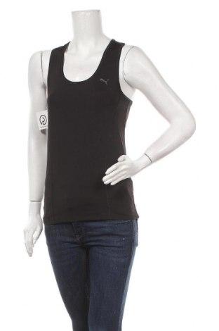 Tricou de damă PUMA, Mărime L, Culoare Negru, 84% poliester, 16% elastan, Preț 19,07 Lei