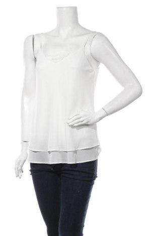 Γυναικείο αμάνικο μπλουζάκι Pieces, Μέγεθος M, Χρώμα Λευκό, Πολυεστέρας, Τιμή 8,31€