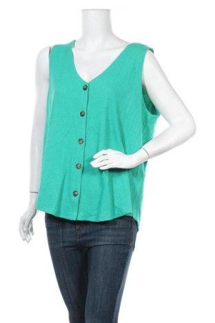 Дамски потник Sussan, Размер XXL, Цвят Зелен, 69% полиестер, 29% памук, 2% еластан, Цена 19,95лв.