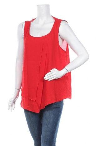 Γυναικείο αμάνικο μπλουζάκι Suzanne Grae, Μέγεθος XL, Χρώμα Κόκκινο, Πολυεστέρας, Τιμή 5,00€