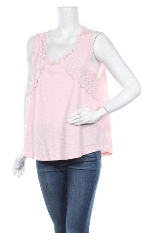 Γυναικείο αμάνικο μπλουζάκι Suzanne Grae, Μέγεθος XL, Χρώμα Ρόζ , 65% πολυεστέρας, 35% βαμβάκι, Τιμή 3,12€