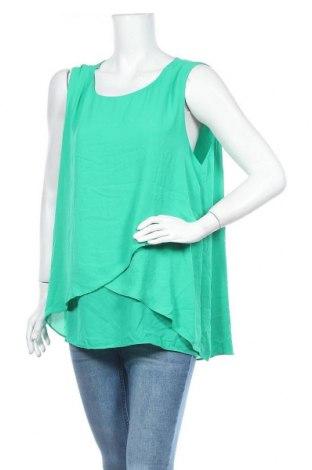Γυναικείο αμάνικο μπλουζάκι Suzanne Grae, Μέγεθος XL, Χρώμα Πράσινο, Πολυεστέρας, Τιμή 9,25€