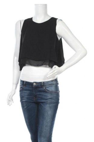 Γυναικείο αμάνικο μπλουζάκι Today, Μέγεθος M, Χρώμα Μαύρο, Πολυεστέρας, Τιμή 11,04€