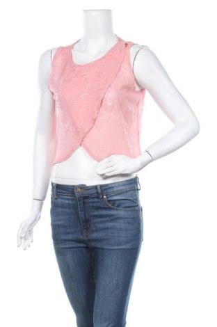 Γυναικείο αμάνικο μπλουζάκι Vert De Rage, Μέγεθος S, Χρώμα Ρόζ , Τιμή 3,12€