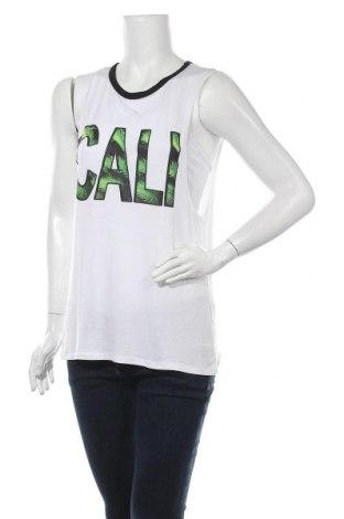 Γυναικείο αμάνικο μπλουζάκι Vert De Rage, Μέγεθος M, Χρώμα Λευκό, Τιμή 3,41€