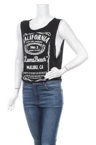 Γυναικείο αμάνικο μπλουζάκι Vert De Rage, Μέγεθος M, Χρώμα Μαύρο, Τιμή 3,18€