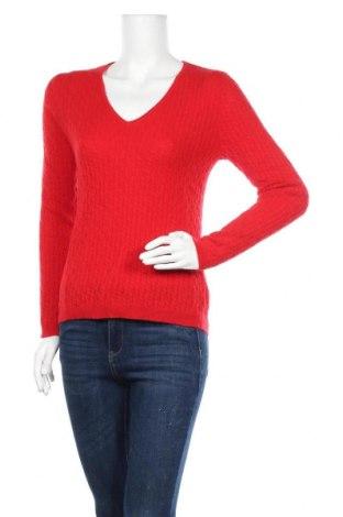 Дамски пуловер Authentic Cashmere, Размер S, Цвят Червен, Кашмир, Цена 109,62лв.
