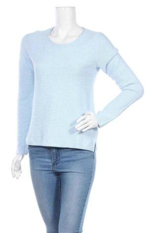 Дамски пуловер Christian Berg, Размер S, Цвят Син, Памук, Цена 15,68лв.