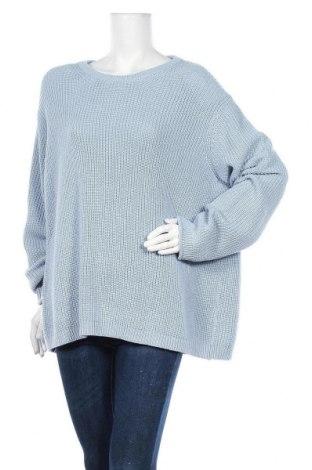 Дамски пуловер Esprit, Размер XL, Цвят Син, Памук, акрил, Цена 24,15лв.